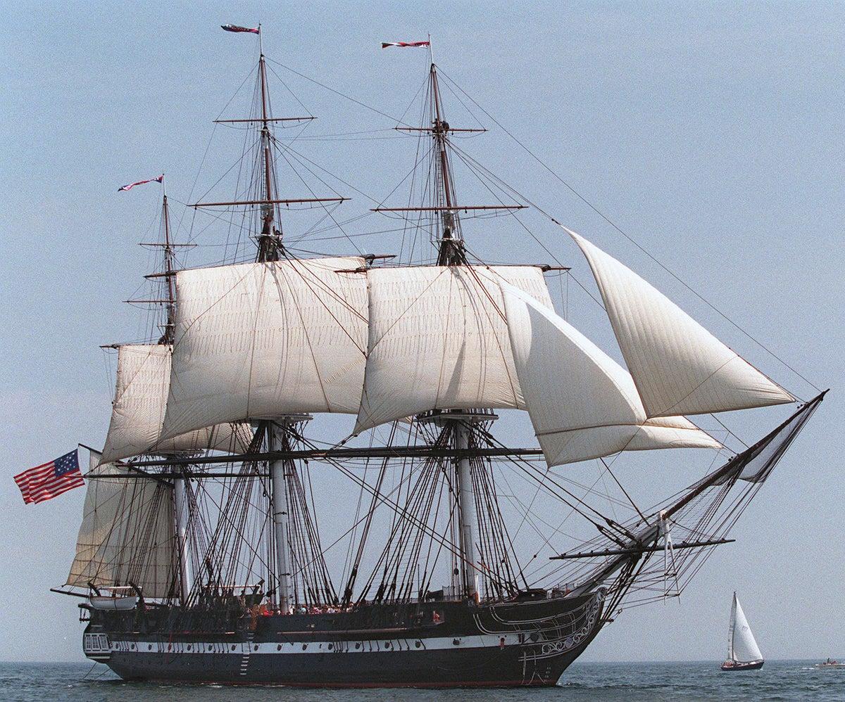 Uss Constitution Released - USS Constit...