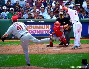 Manny gets hit
