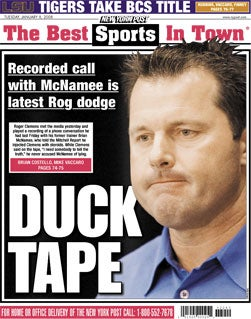 New York Post, Jan. 8, 2008
