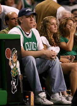Curt Schilling at Game 2. Getty Images Photo / Elsa