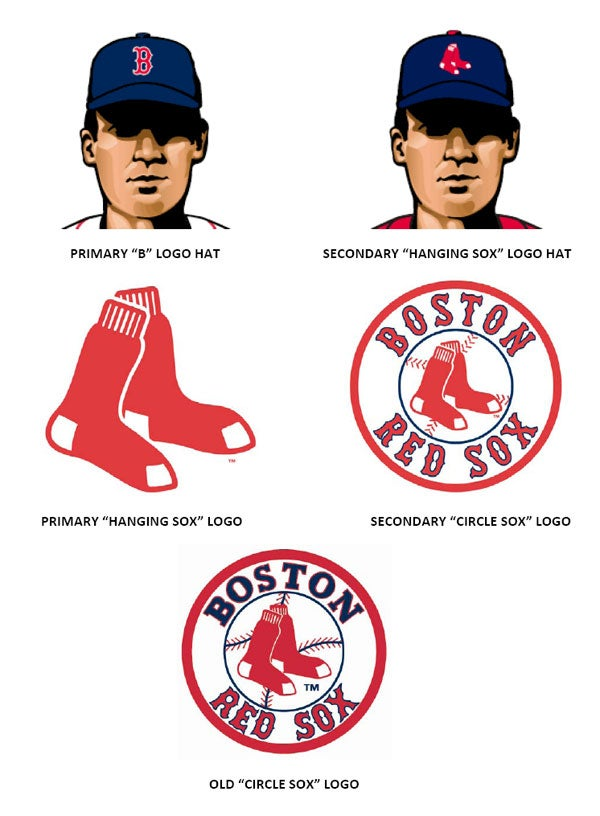 red sox unveil new club logos and uniforms