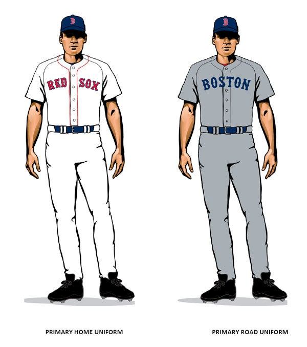 home and road uniforms