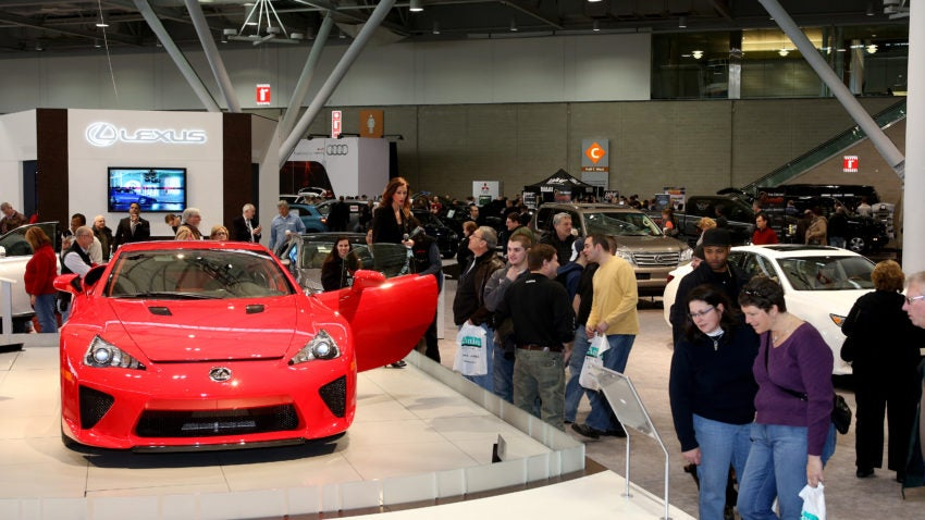 How To Get A Discount On Your New England International Auto Show - Boston car show this weekend