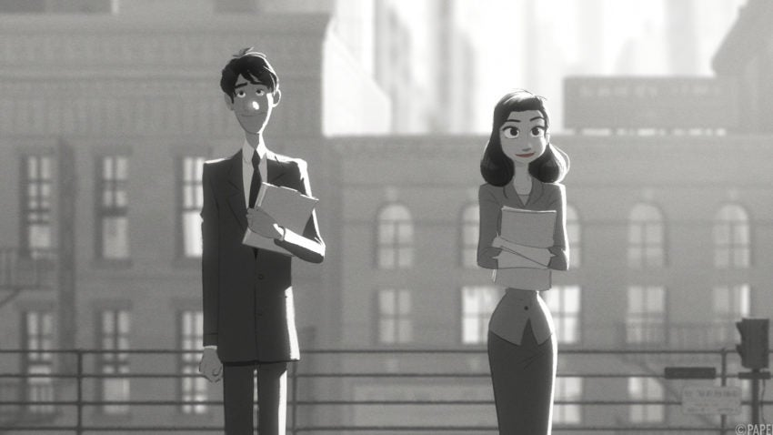 Disney short paperman