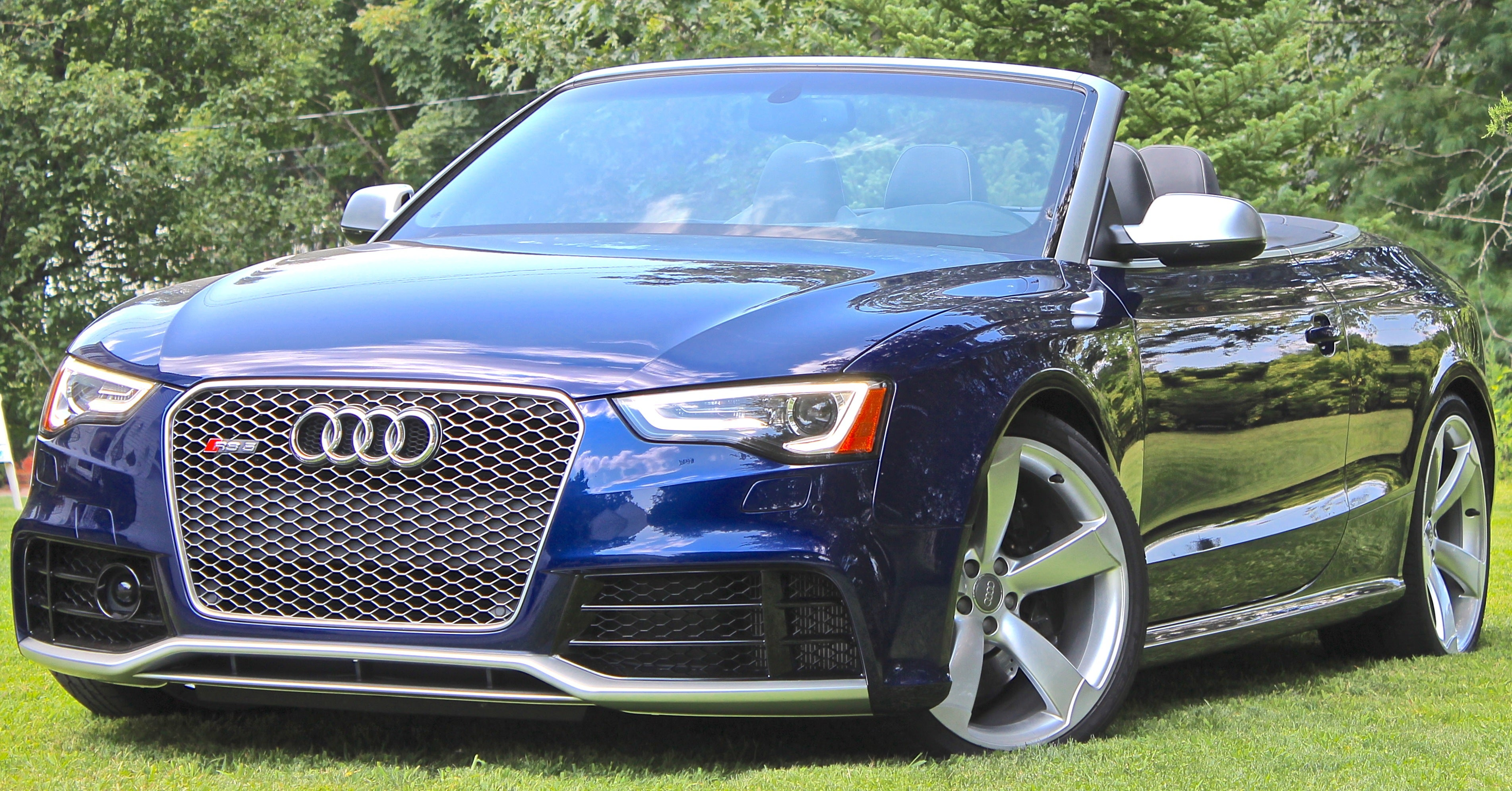No Heavy Lifting For Audi S Rs5 Cabriolet Boston Com