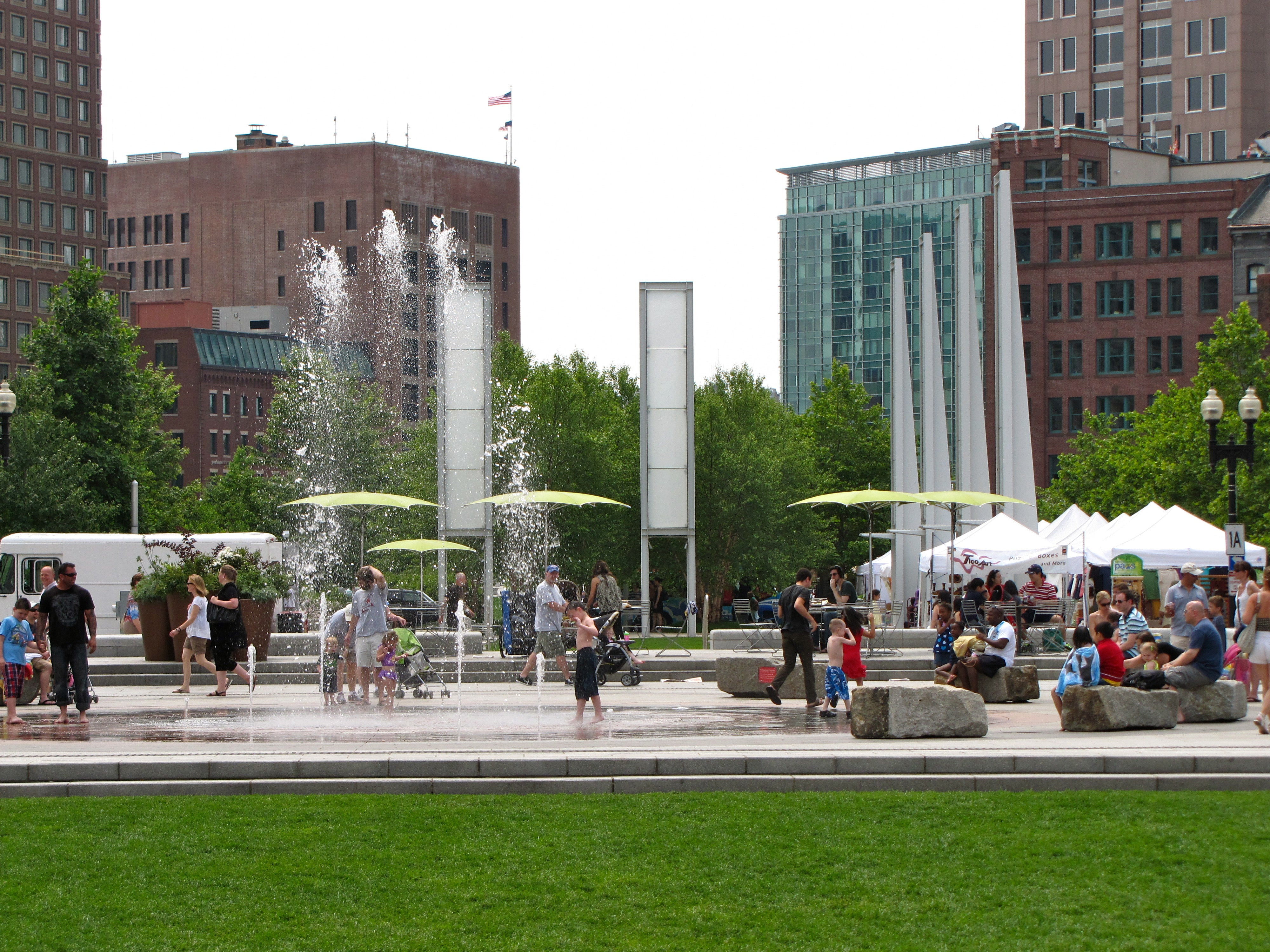 The Rose Kennedy Greenway