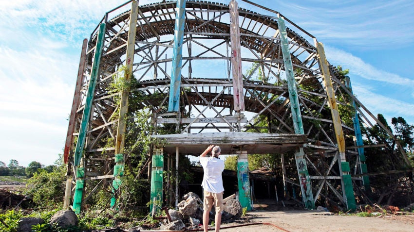 Used Cars Dartmouth >> Lincoln Park's Comet roller coaster demolished today in ...