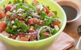 Watermelon and arugula salad. Photo taken from the Whole Foods website.