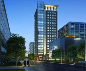 Architect rendering of the project by ADD Inc.