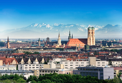 This photo of Munich is now posted on Demandware's website. The Burlington company is establishing its European HQ there.
