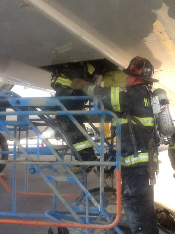 Officials: Smoke filled the cabin of Dreamliner in Logan