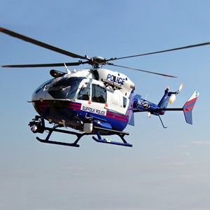 The EC145. Photo taken from American Eurocopter's website.