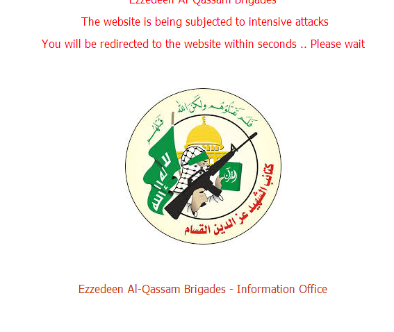 Military Wing Of Hamas Has Twitter Account Suspended