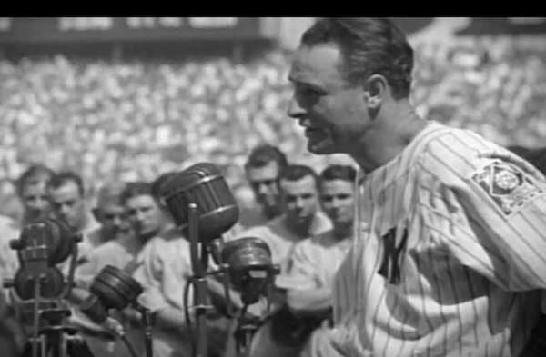 Image result for baseball lou gehrig retires