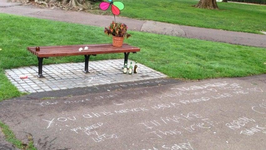 Good Will Hunting Bench In Boston Public Garden