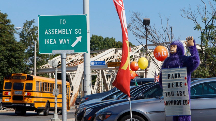 Somervilles Ikea Way To Nowhere Bostoncom