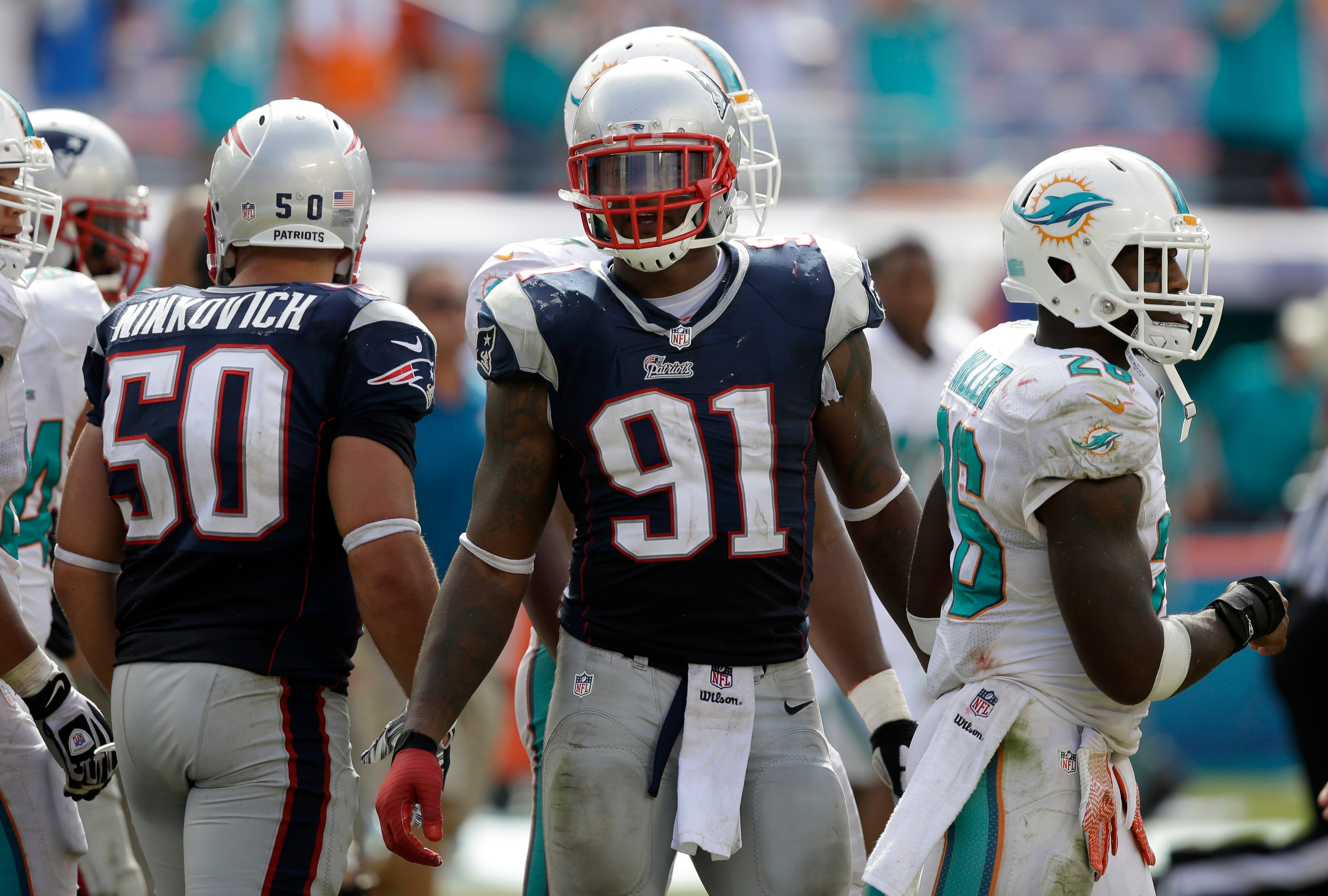 Patriots Injury Report Jamie Collins Limited With Thigh Injury