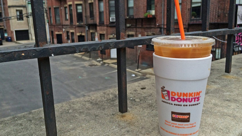 Dunkin Donuts Ad The Double Cup Iced Coffee Issue At Last Boston