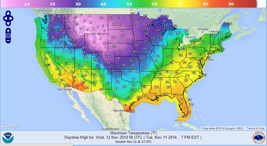 Arctic Cold Will Be Much Modified When It Arrives In New England