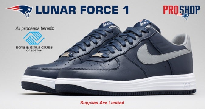 save off d33e9 a8832 Spiffy Robert Kraft Edition Nike Sneakers Sell Out Quickly   Boston.com