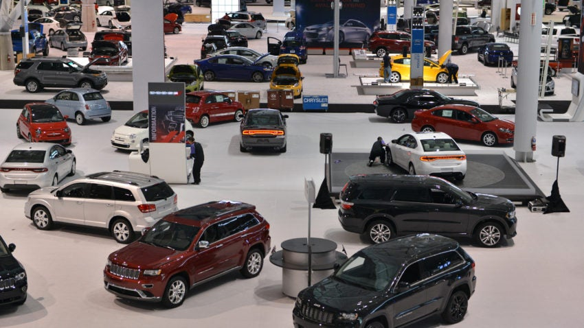 New England Auto Show Will Have Over Vehicles On Display - Boston car show this weekend