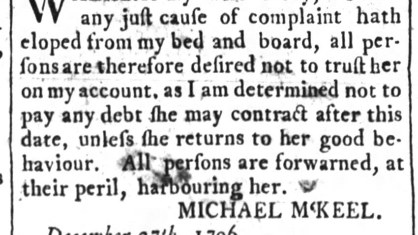 All's Fair in Love and Classified Ads: Three Centuries of