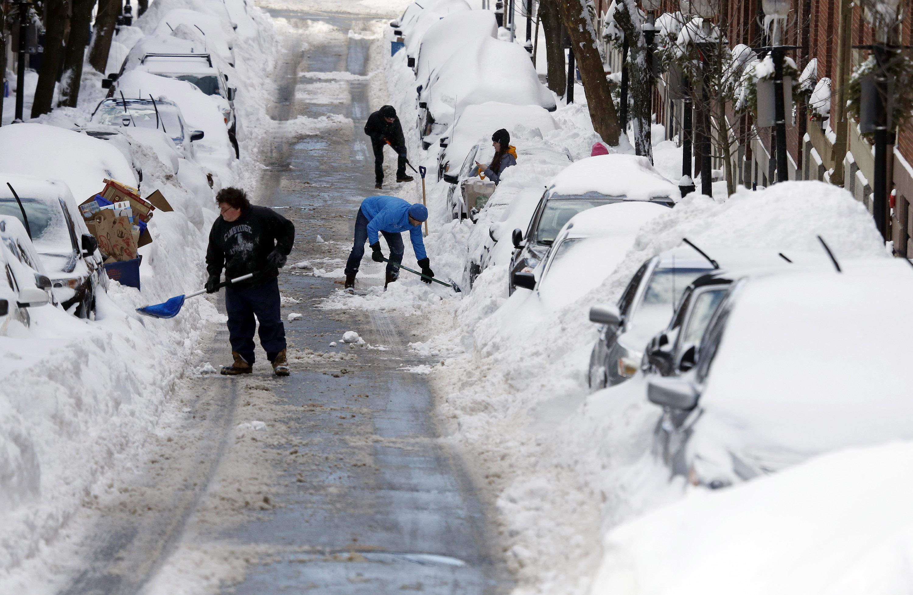 Even With Record Breaking Snow This Winter, Some Folks ...