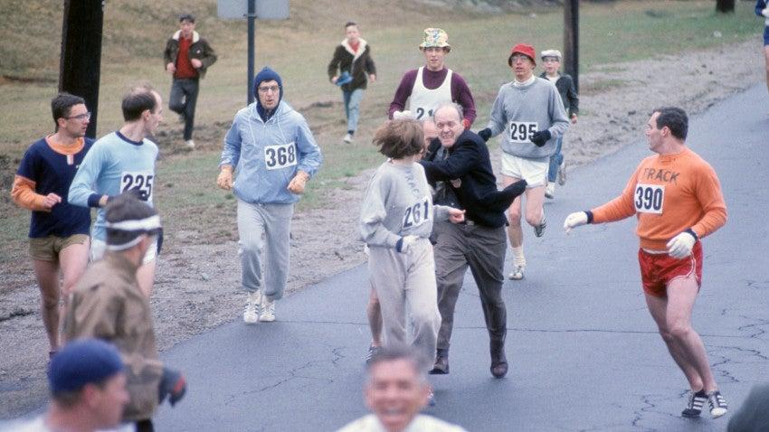 Kathrine Switzer On The Marathon Moment That Changed