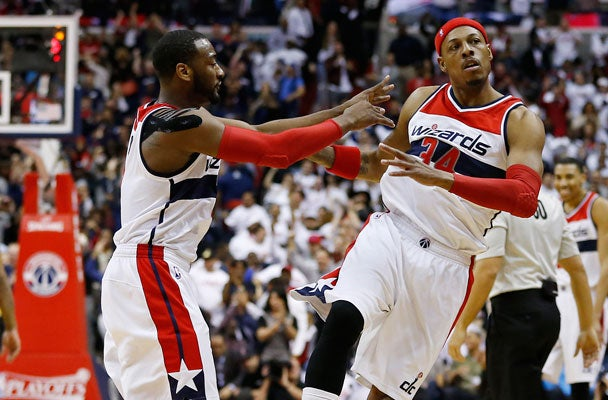 lowest price d0604 493d9 Paul Pierce Tells Wizards Fans 'That's Why I'm Here' After ...