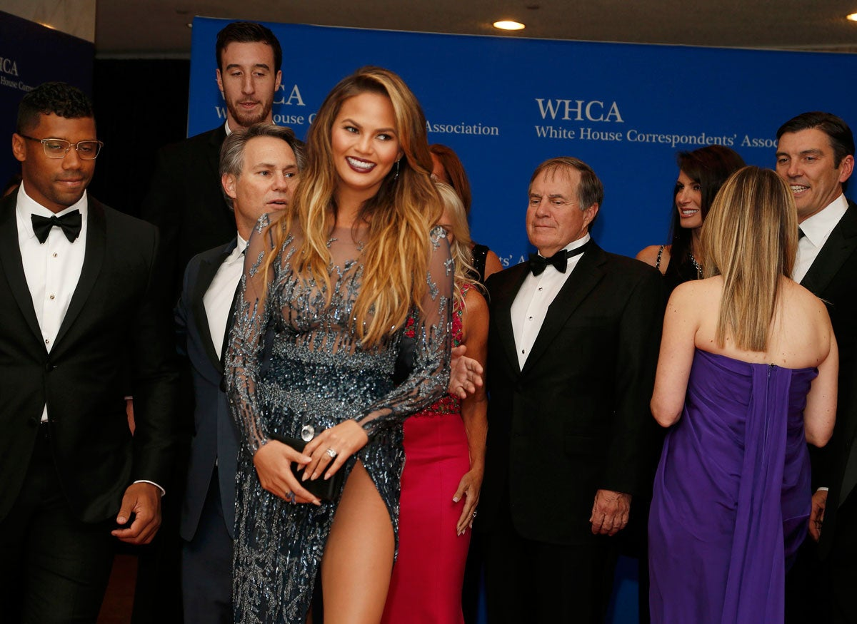 Chrissy Teigen Says Get Out of My Uterus