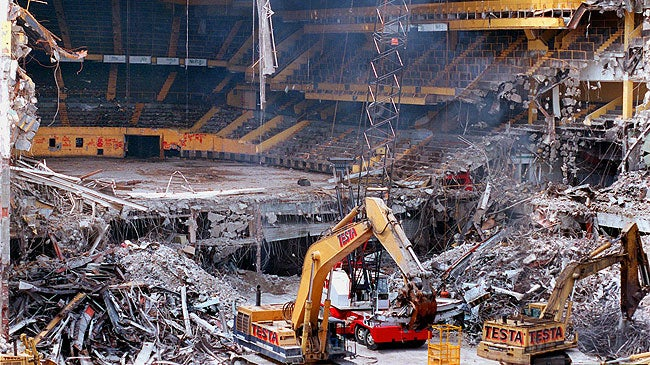 Local Used Cars >> When they tore down the Boston Garden | Boston.com