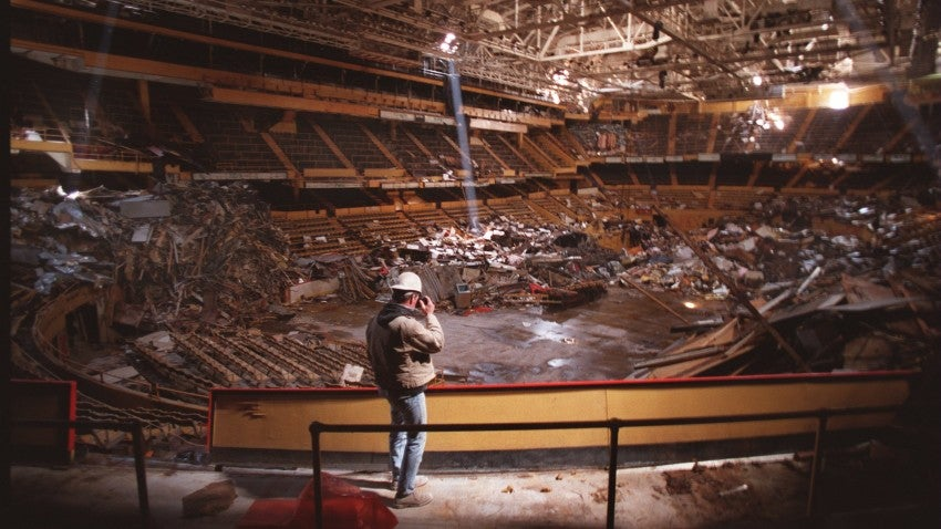 The Boston Garden Closed 20 Years Ago Today But The