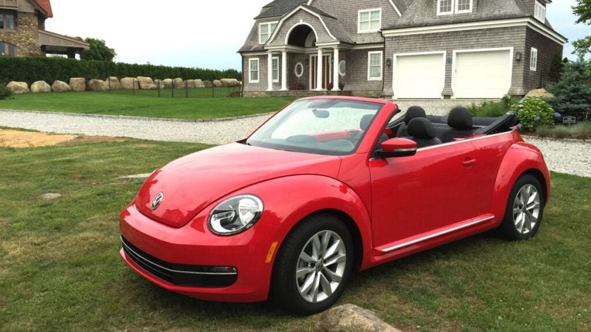 Vw Beetle Is A Convertible You Don T Have To Feel Bad About Driving Boston