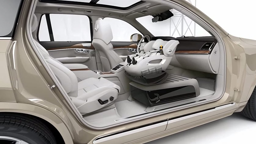 Why Volvo S Front Car Seat Concept Is A Bad Idea Boston Com