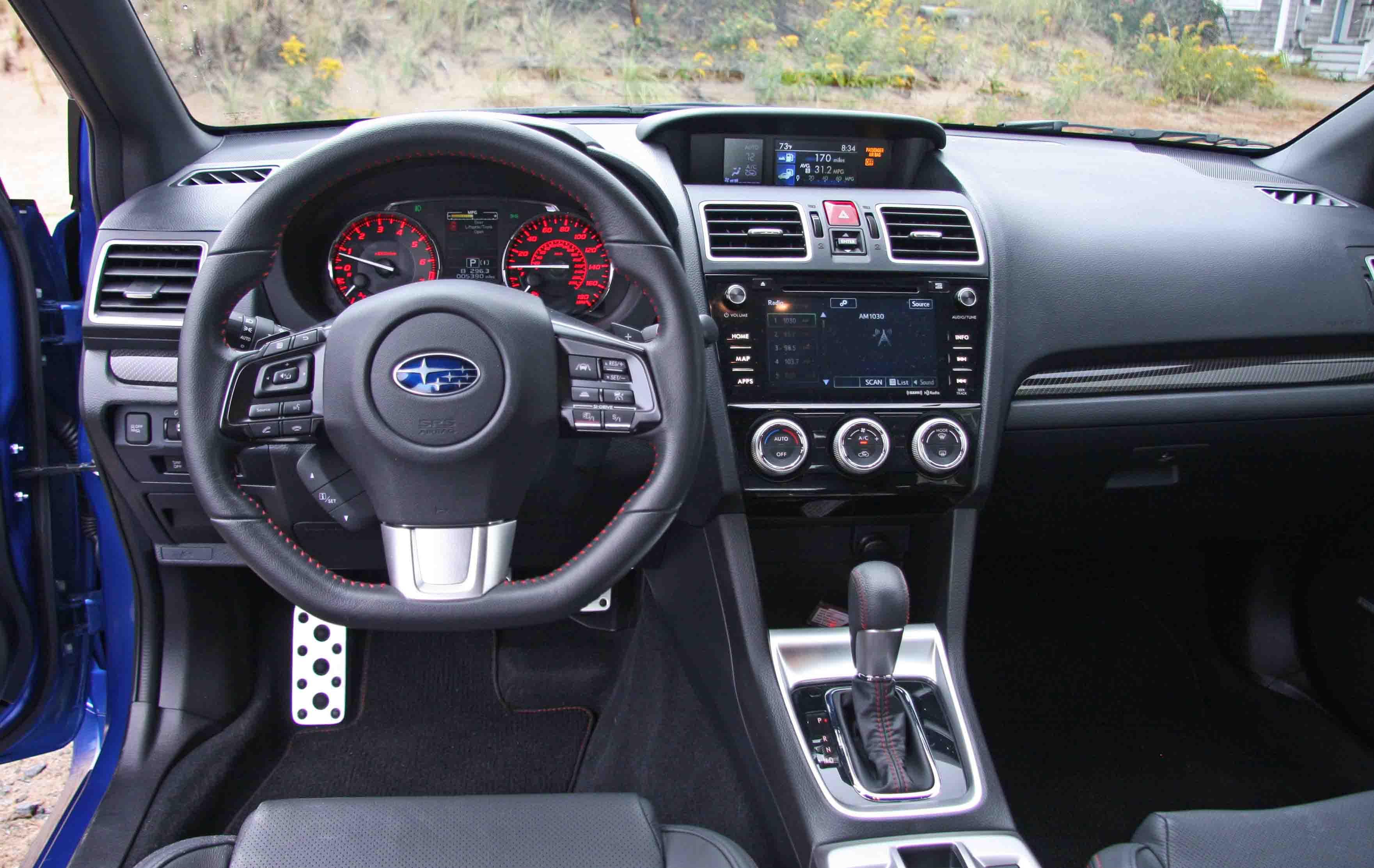 Subaru's WRX: Everything you want, except a clutch   Boston com