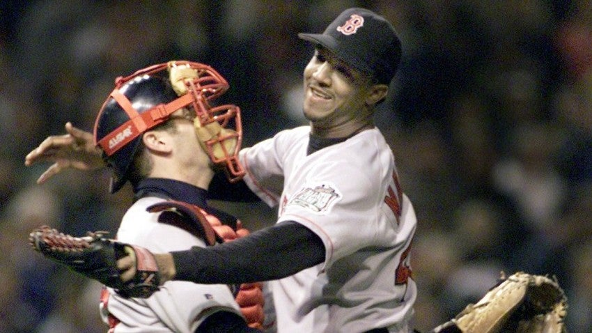 Image result for pedro game 5 1999