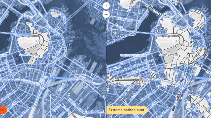 Climate Change Map Shows Boston Is An Atlantis In Waiting