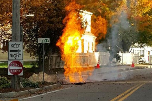 gas main explosion in medfield causes evacuations and