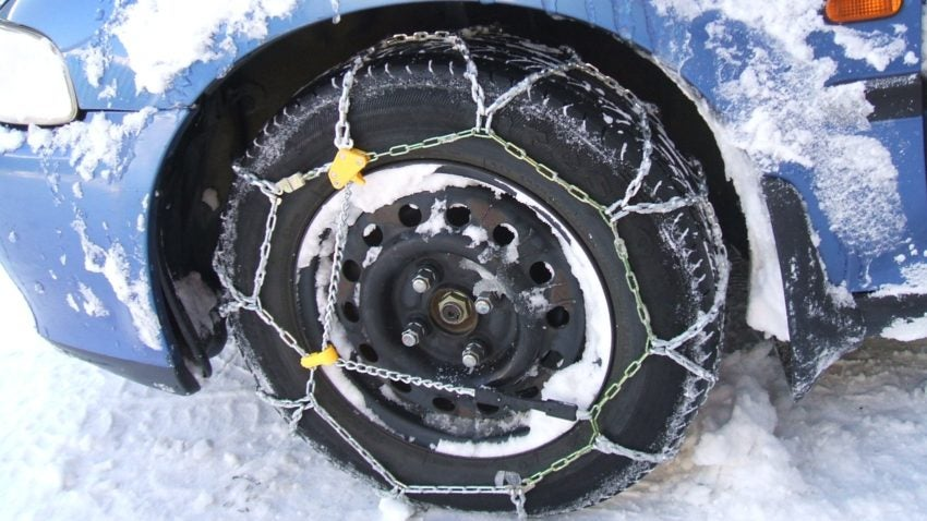 When Should You Use Tire Chains Boston Com Boston Com