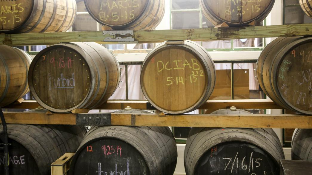 """Trillium offers a wide variety of """"wild"""" beers, aged using yeast native to New England."""