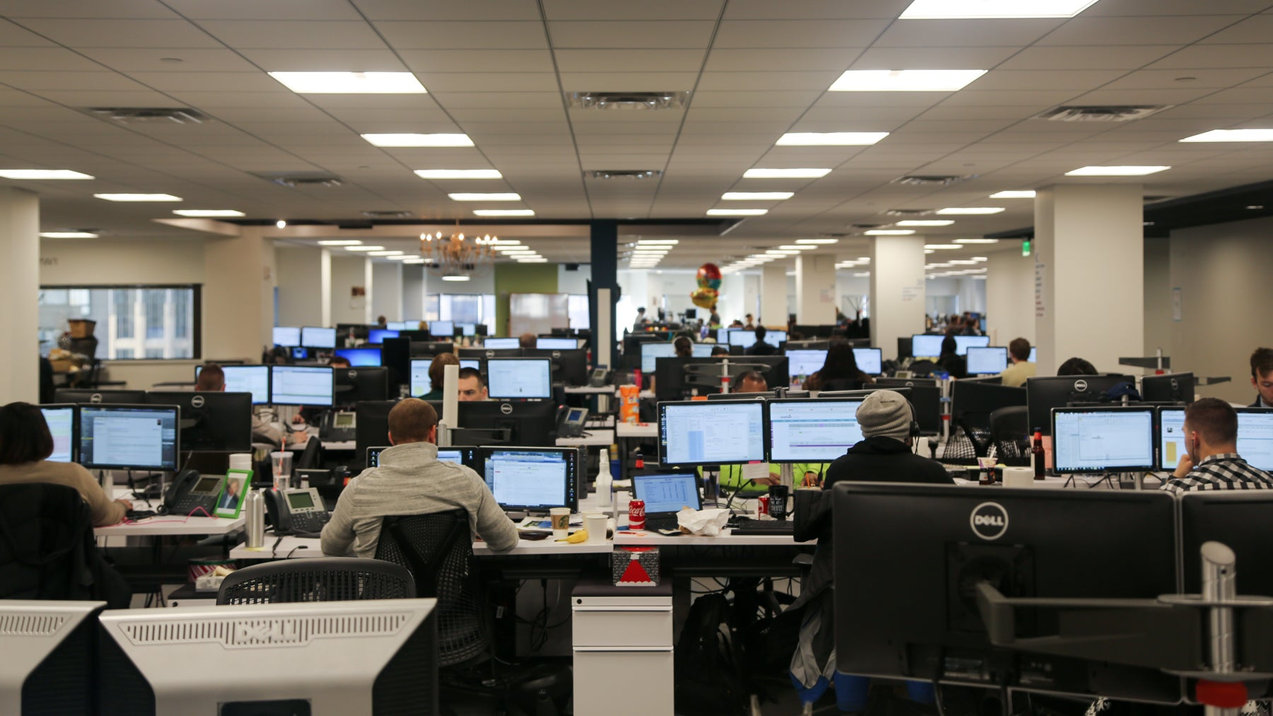Wayfair has about 2,000 employees at the Boston offices.