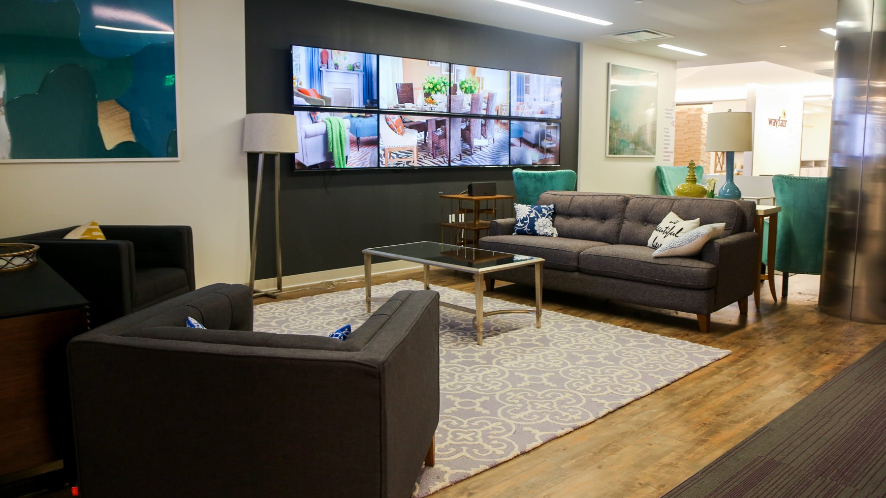 Wayfair is hiring for hundreds of positions.
