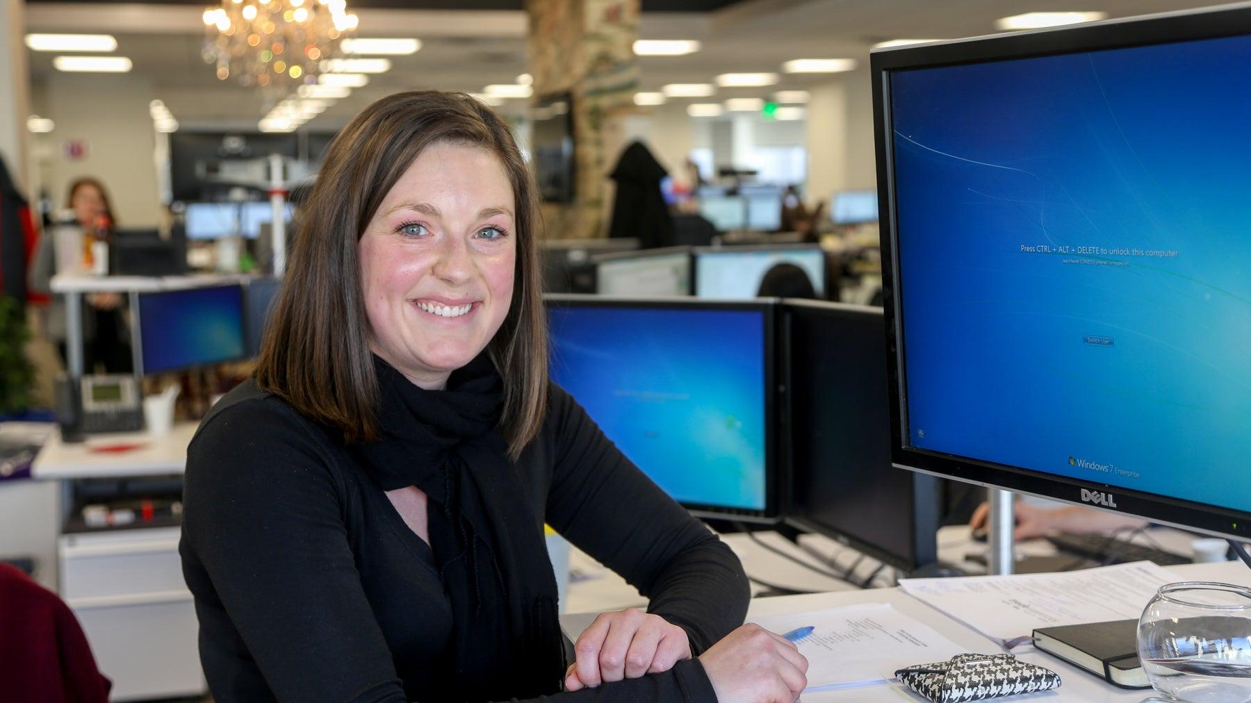 Jess Merrell first worked at Wayfair as a co-op.