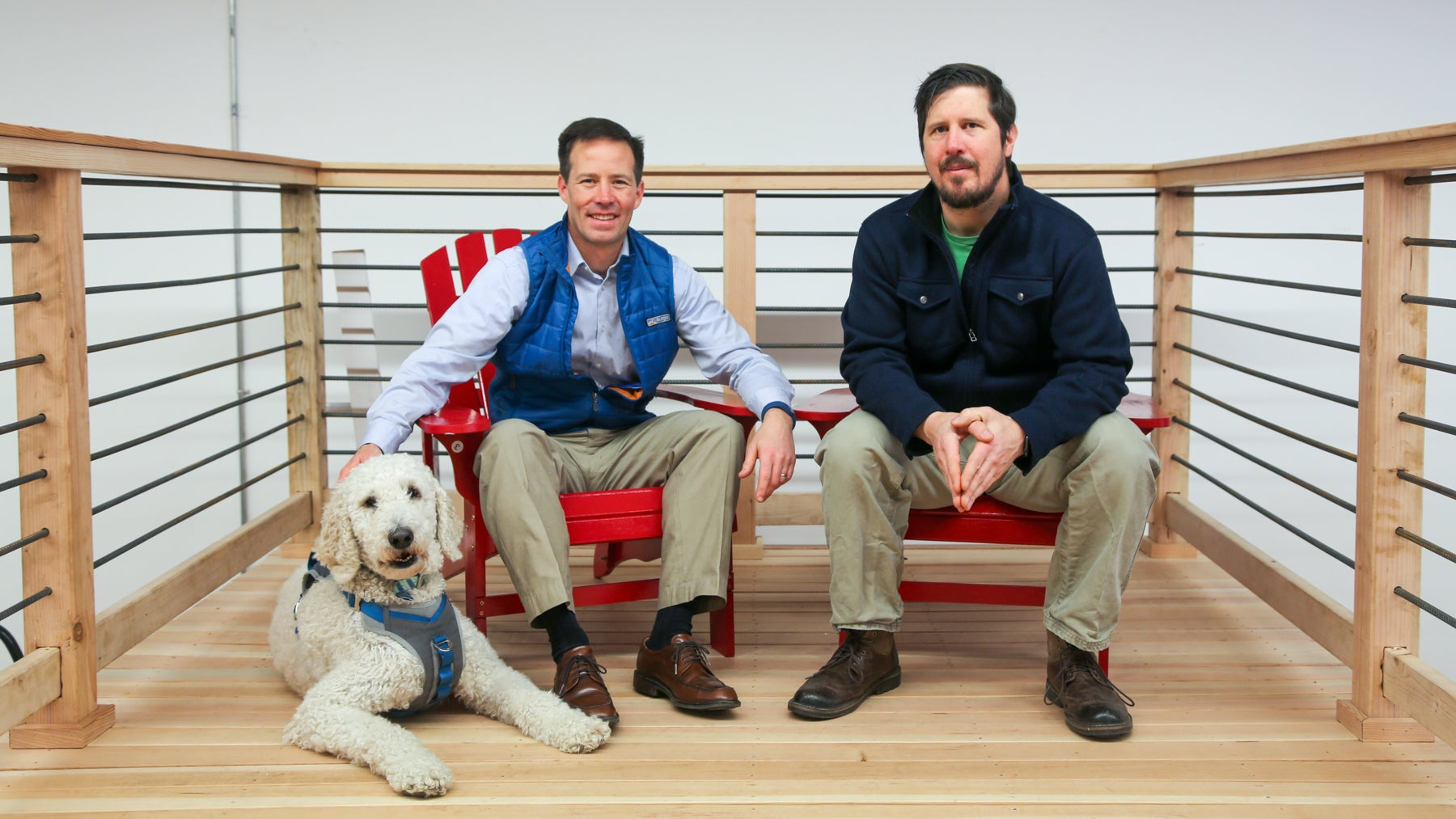 Gordie and Kitter Spater are brothers and co-owners of Kurgo, a Salisbury-based manufacturer of travel products and accessories for active dogs.