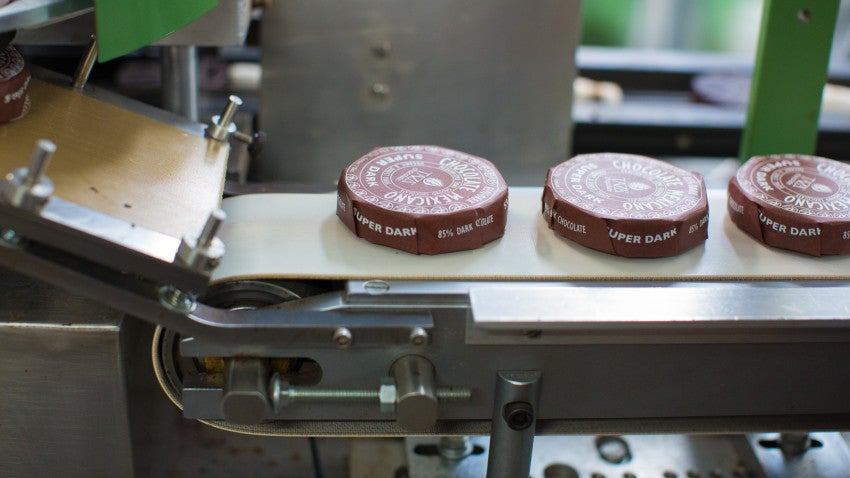 Whitmore said Taza chocolate's gritty texture and bold flavor can be polarizing.