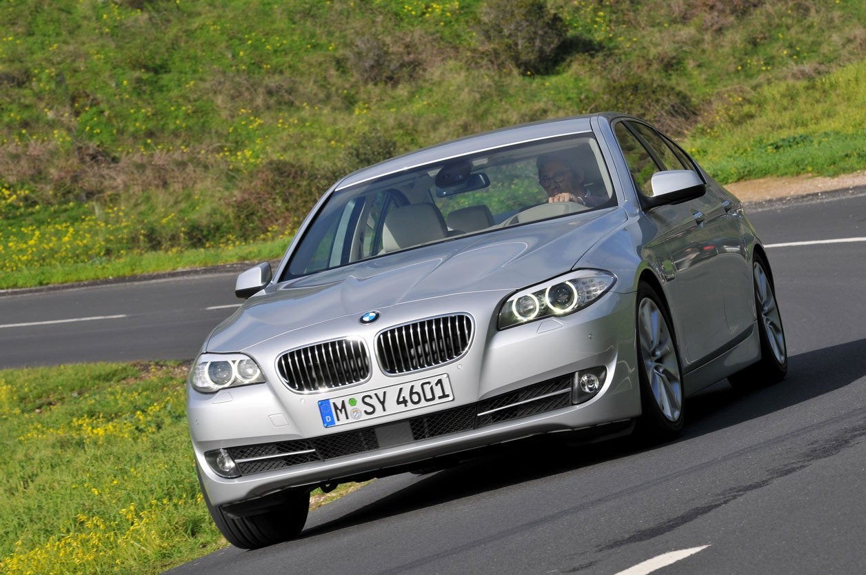 2016 BMW 528i. Winner: Best luxury passenger car. Base MSRP: $50,200. Fuel economy: 23 mpg city / 34 mpg highway. 5-year ownership costs: $54,332. Savings compared to similar vehicle: $4,255.