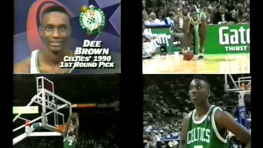 hot sale online 0ce6c 76697 Remembering Dee Brown s win in the 1991 dunk contest   I thought to myself,  these guys have no clue what I can do    Boston.com
