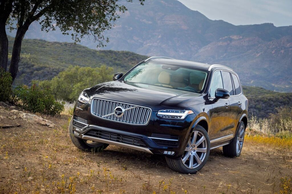 THREE CHOICES, ALL GOOD: The Volvo XC90 Hybrid offers a variety of driving modes: a normal gas-electric hybrid operation, pure electric, power, save, and all-wheel-drive.