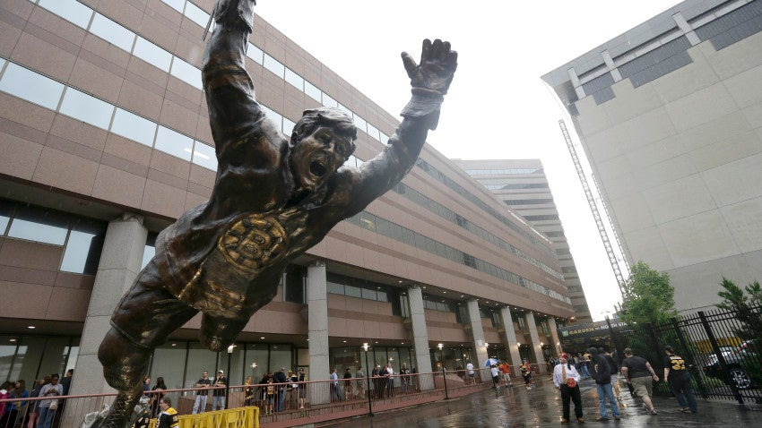 Bobby Orr Statue Will Leap To New Location Near The Td Garden