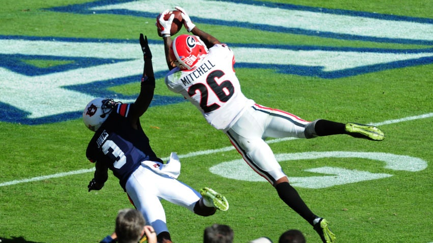 Patriots select Georgia wide receiver Malcolm Mitchell with 112th pick in NFL draft